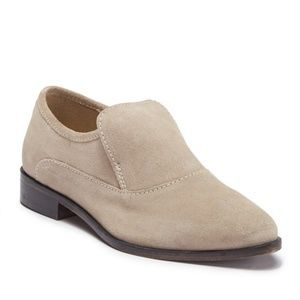 FREE PEOPLE Brady Slip On Loafer Taupe size 40
